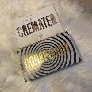 Jeffree Star Conspiracy and Cremated Duo Palettes